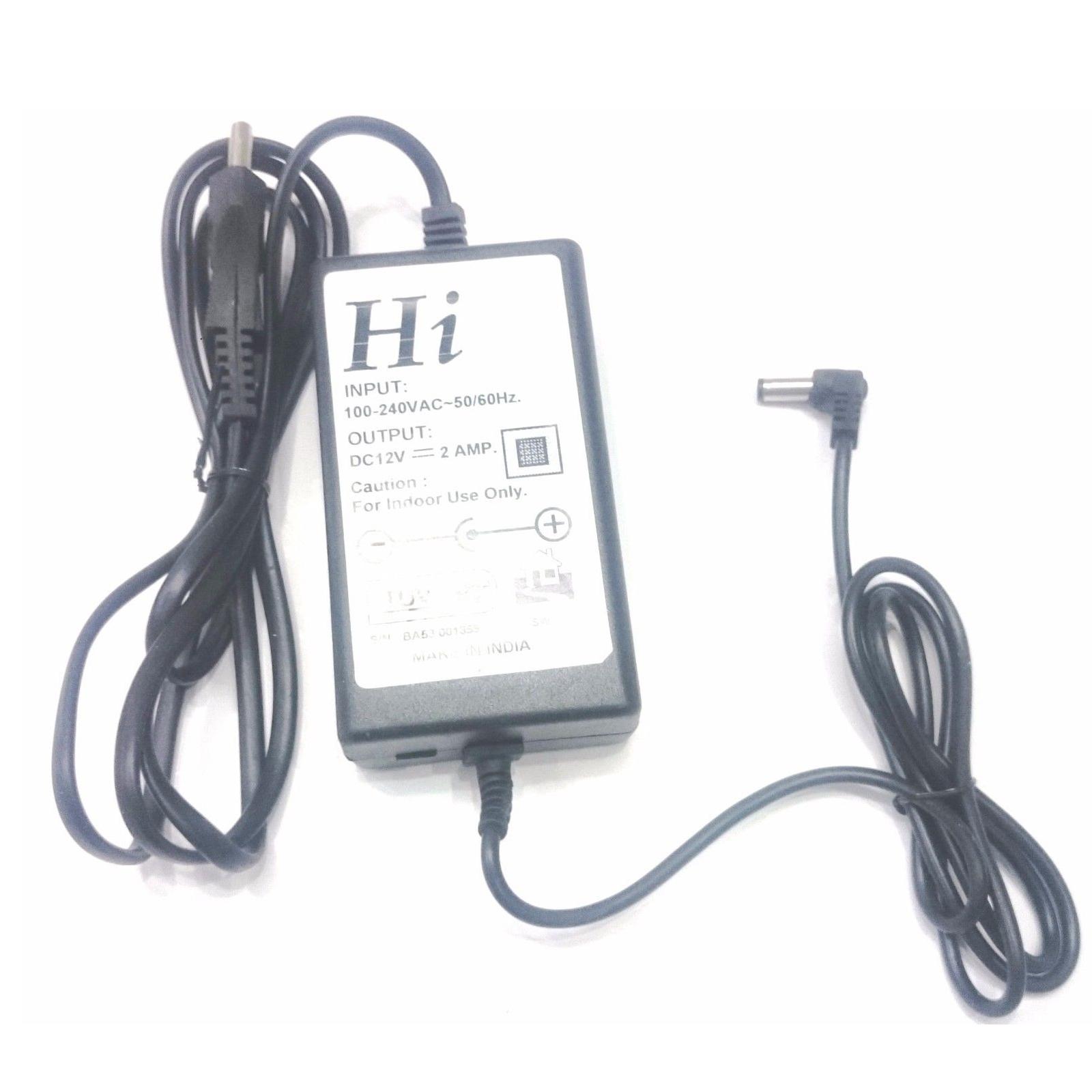 Buy 12v 2a Dc Power Supply Ac Adaptor Smps Led Strip Cctv Home