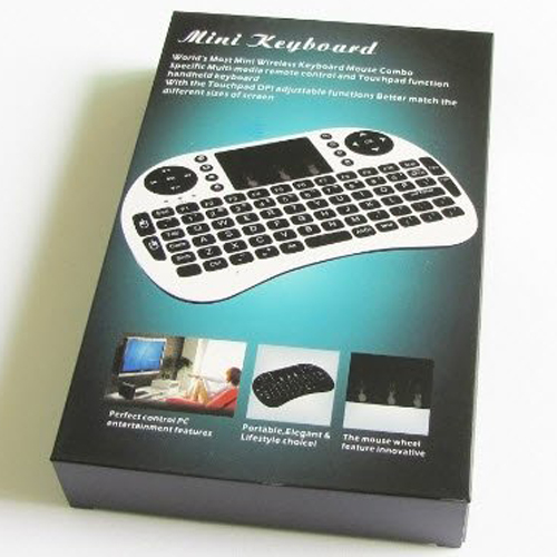 30a0024dcc9 Built-in high sensitive smart touchpad with 360-degree flip design. Ideal  for devices such as PC, Mac, Xbox 360, Xbox One, PS3, PS4, Google Android  TV Box, ...