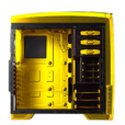CIRCLE MID TOWER CABINET (ATX) – CC830 YELLOW 2