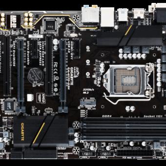 Gigabyte H170M-D3H – DDR4 2