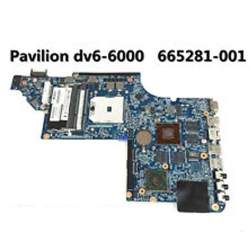 HP Pavilion dv6 dv6-6000 Series Laptop Notebook Motherboard AMD HD6750/1G  665281-001