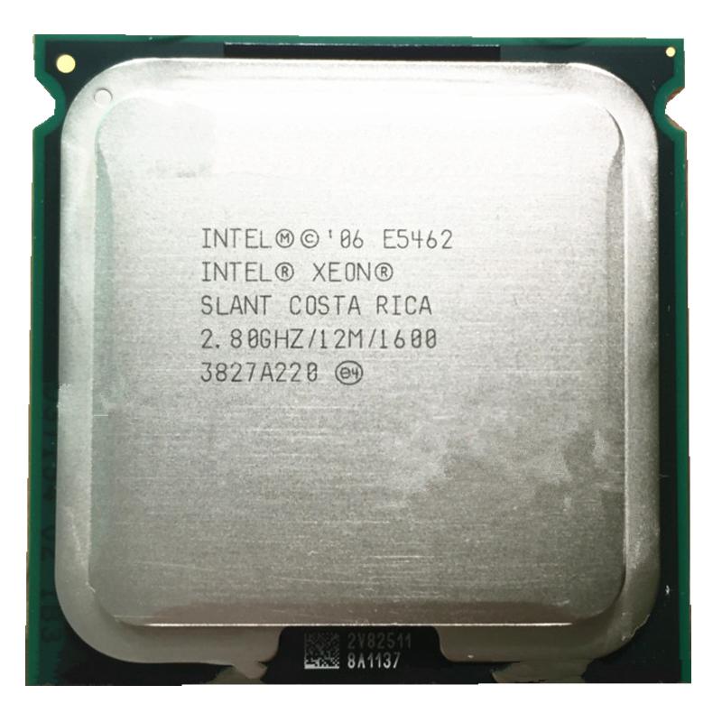 INTEL XEON E5462 28GHz 12M 1600MHz CPU Equal To LGA775 Core 2 Quad Q9550 Works On