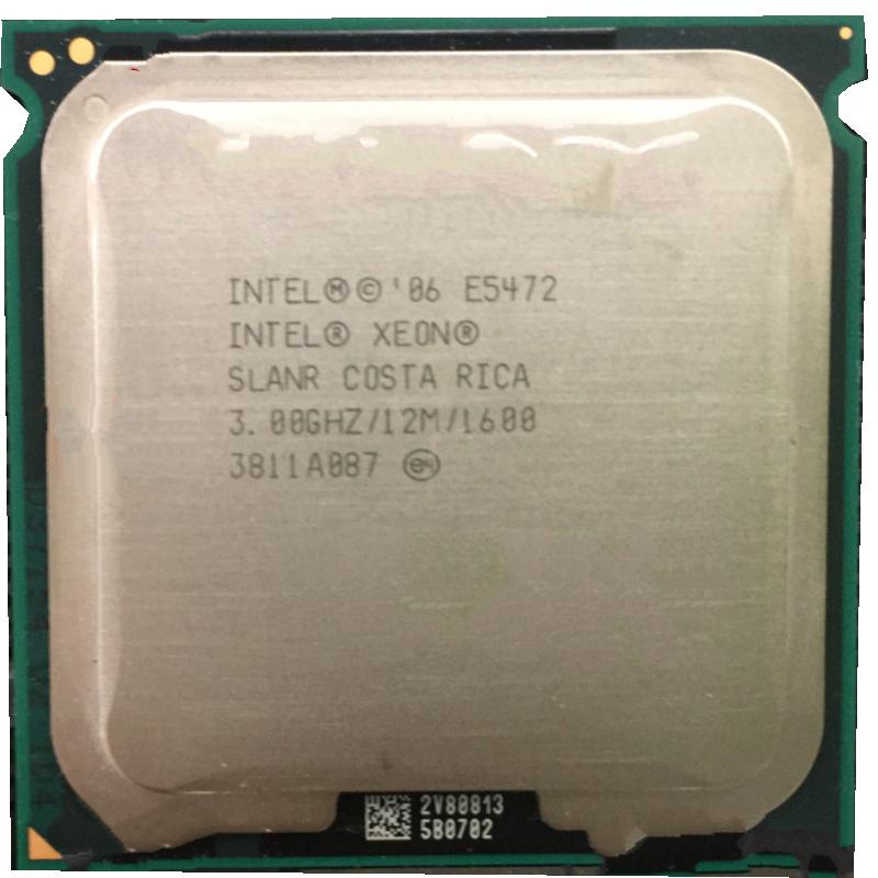 INTEL XEON E5472 30GHz 12M 1600Mhz CPU Equal To LGA775 Core 2 Quad Q9550 Works On