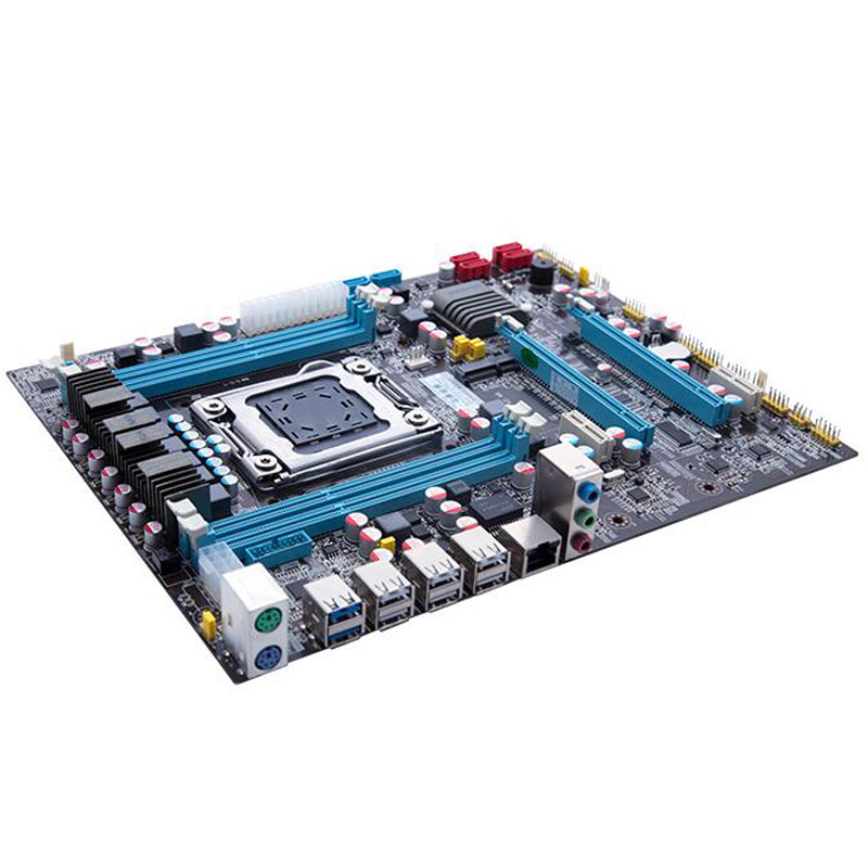 Intel Xeon X79 motherboard CPU RAM combos LGA 2011 E5 2660 V2 (10 cores/20  threads) memory (4*4G)16G DDR3 REG ECC