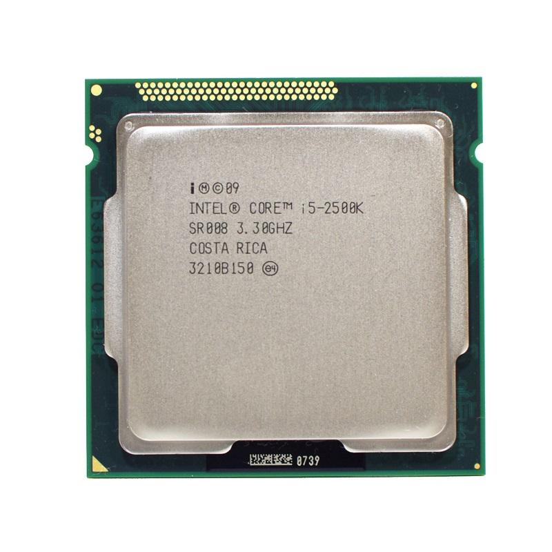Intel Quad Core Box Prozessor Intel Core i5-2500K, 3,3GHz, 6MB Cache, 1155 Sockel
