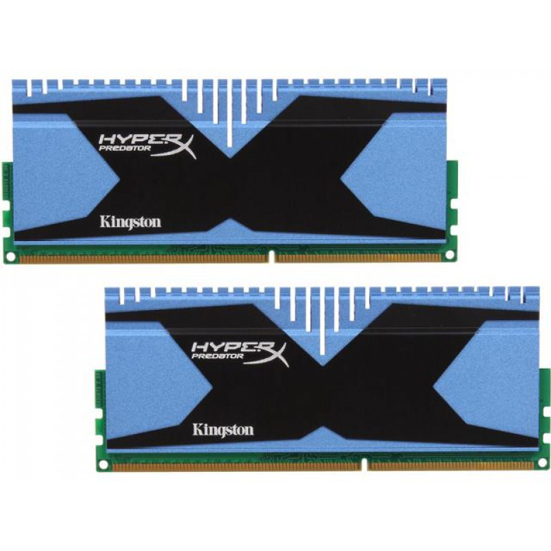 KINGSTON RAM HYPERX PREDATOR 8GB (2x4GB) DDR3-2133 MHz INTEL XMP CL11  (KHX21C11T2K2/8X)
