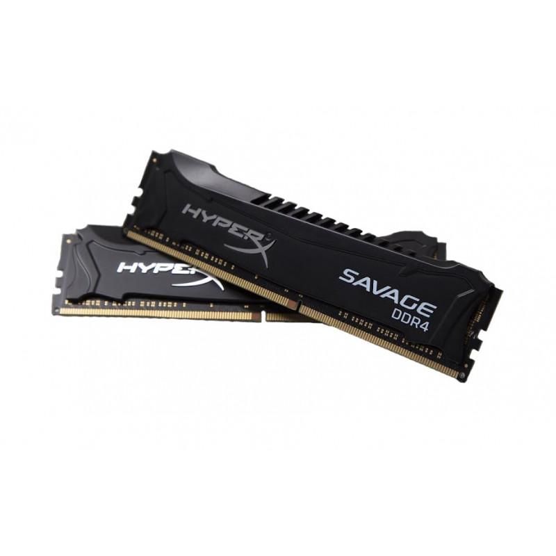 KINGSTON RAM HYPERX SAVAGE 32GB (2x16GB) DDR4-2400 MHz INTEL XMP CL14  (HX424C14SBK2/32)