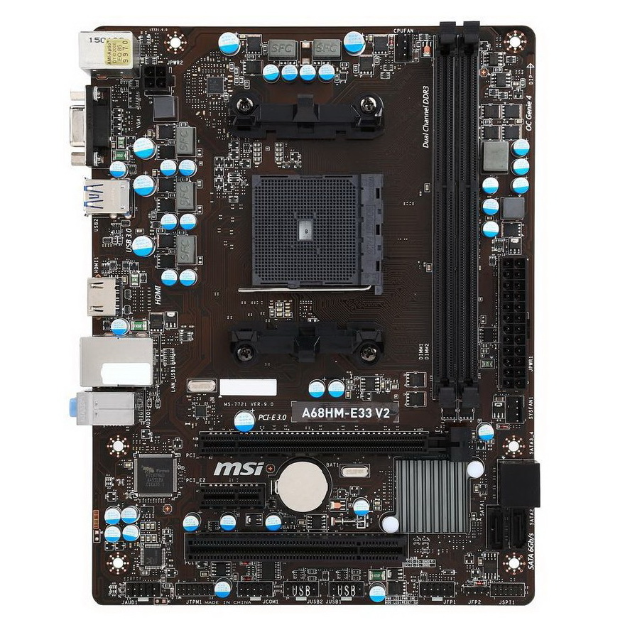 Buy MSI A68HM-E33 V2 MB A68HM-E33 V2 AMD Online in India at Lowest Prices | Price in India | buysnip.com