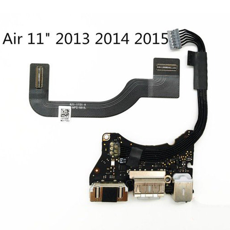 "MacBook Air 11/"" a1465 2012 USB DC Jack Audio Power Board 820-3213-a USB"