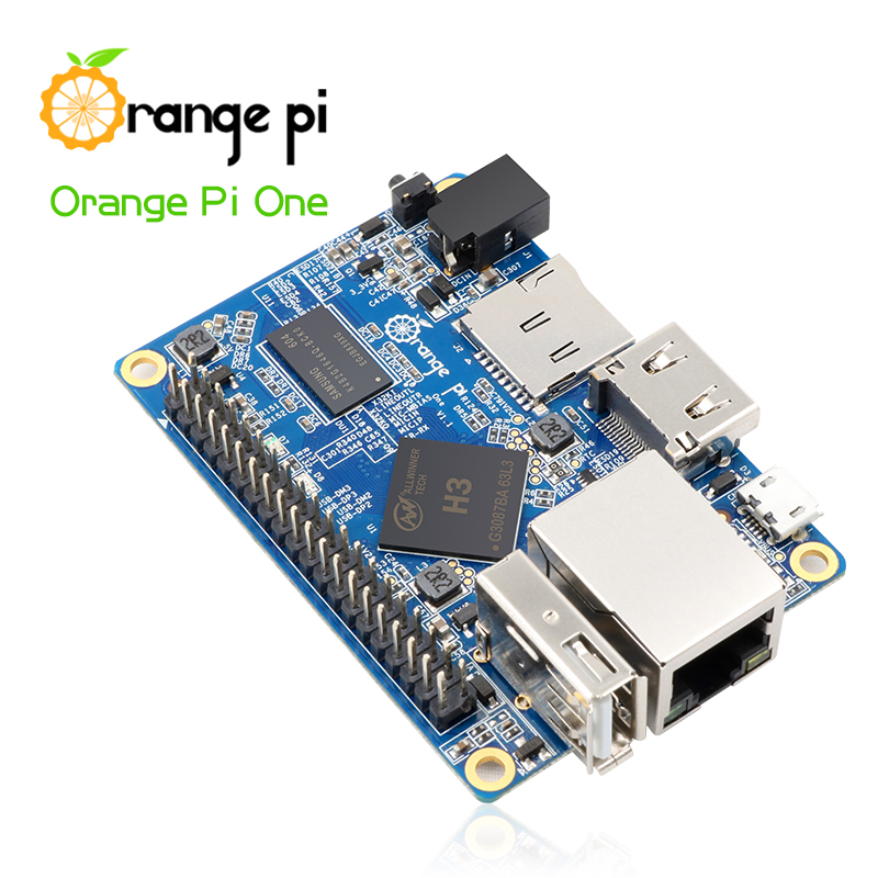 Orange Pi One - H3 Quad-core Board supports Android, Linux, Raspberry 2 3