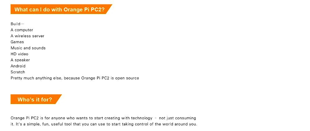 Orange Pi PC2 H5 64bit Support Lubuntu Linux and Android mini PC Beyond  Raspberry Pi 2