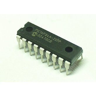 Buy Original Microchip PIC16F84A Microcontroller for Electronic ...