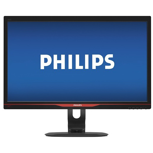 818f6d656 ... in 1920 x 1080 resolution on this Philips 242G5DJEB monitor's 24″  display, which features SmartImage presets that are optimized for various  game genres, ...