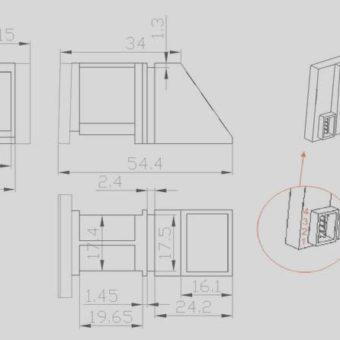 R305-optical-Finger-Print-Module-reader-scanner-robot-module-For-Arduino-Raspberry-Pi-Robotics-buy-in-india-buysnip-com (11)