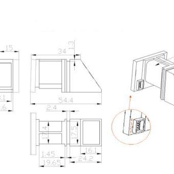 R305-optical-Finger-Print-Module-reader-scanner-robot-module-For-Arduino-Raspberry-Pi-Robotics-buy-in-india-buysnip-com (17)