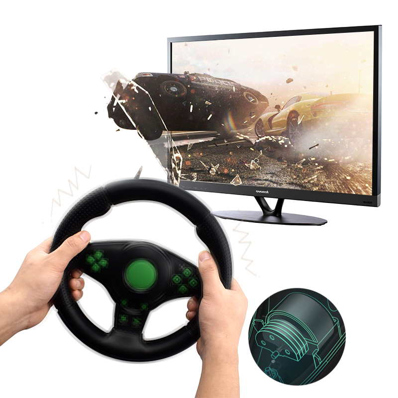 91f4c21eeda Buy Steering Wheel for PC - For Android PC XBOX-360 PS3 Vibration ...