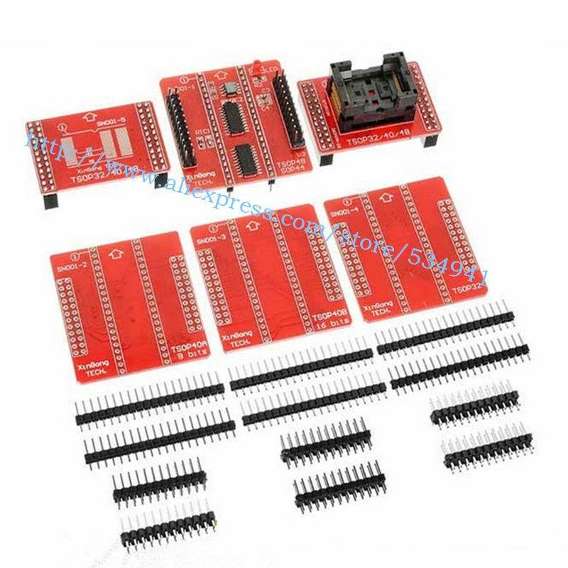 TSOP32 TSOP40 SOP44 TSOP48 Adapter MiniPro TL866 TL866A TL866CS