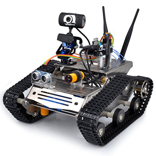 Buy wireless wifi robot car kit for arduino hd camera ds