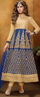 blue embroided lehenga choli.3jpg