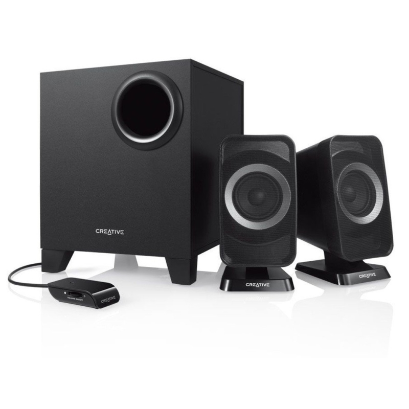 Creative T3150 2 1 Speaker (with Bluetooth- Aux Connectivity)