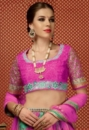 green pink embroided lehengas suit.3jpg
