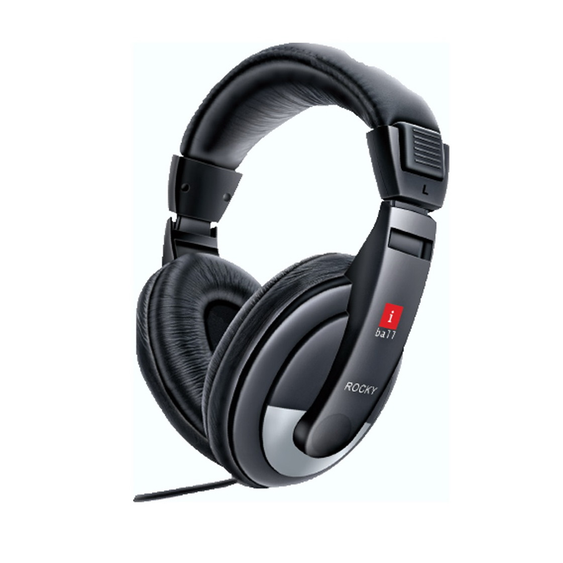 Image result for iBall Rocky over-ear headphones with mic