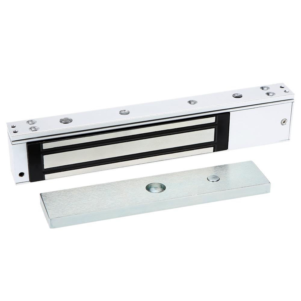 buy single door 12v 280kg 600lb electric lock for door. Black Bedroom Furniture Sets. Home Design Ideas