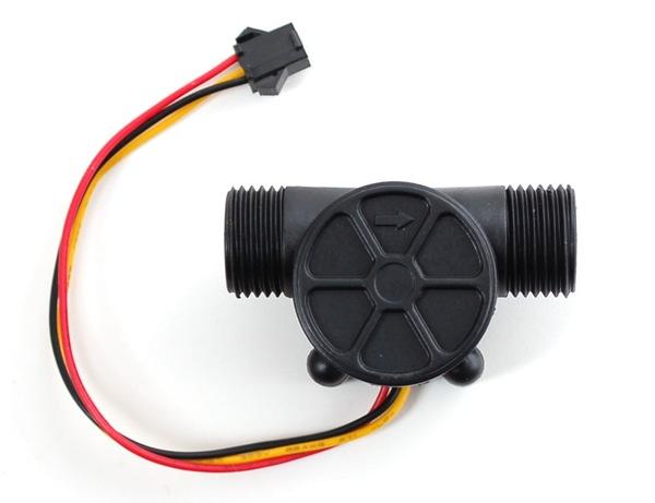 Buy water flow sensor fluid flowmeter meter hall effect
