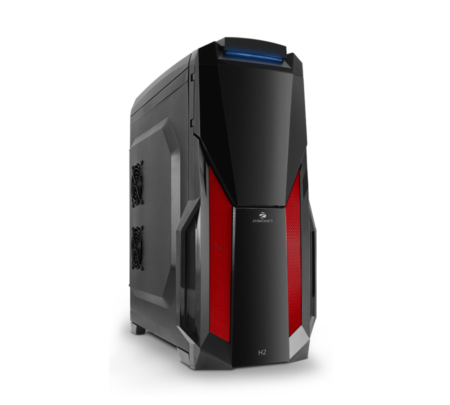 H2 Zeb 528b Cabinets Gaming Cabinet Zebronics Online In India At Lowest Prices Price Snip
