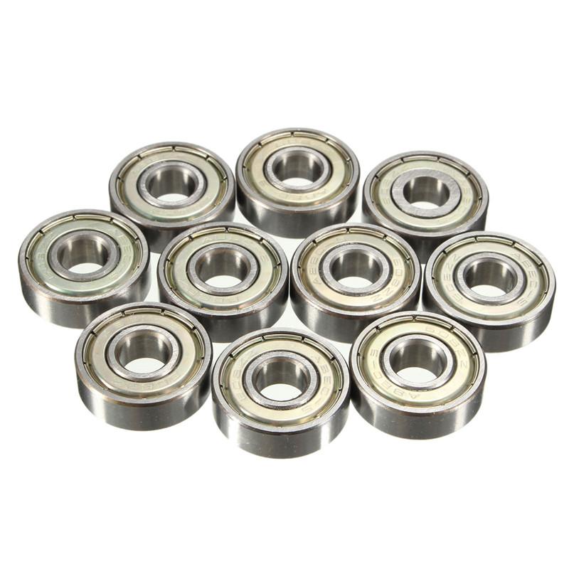 10 Pcs Carbon Steel 608zz 608-ZZ Ball Bearing For RepRap 3D Printers