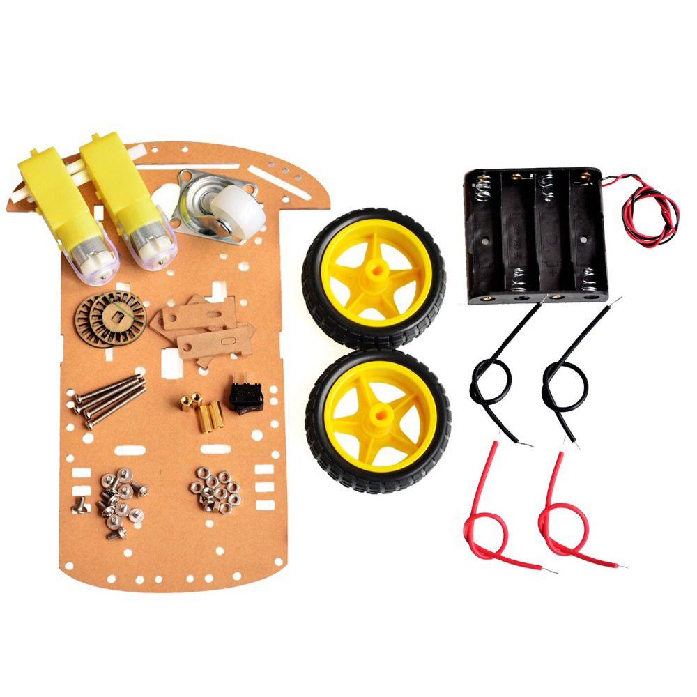 f707326ab Buy 2WD Motor Smart Robot Car Chassis Kit Speed Encoder Battery Box For  Arduino Online in India at Lowest Prices | Price in India | buysnip.com