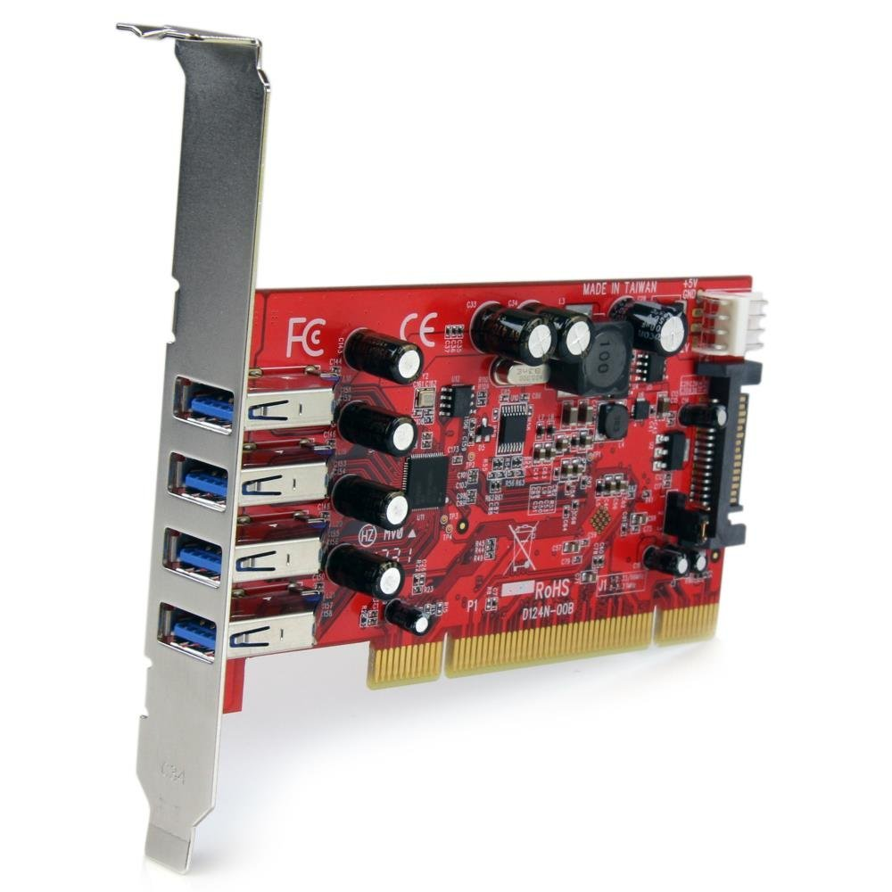 4 Port SuperSpeed USB 3.0 PCI Express Card with UASP – SATA Power4 Port SuperSpeed USB 3.0 PCI Express Card with UASP – SATA Power