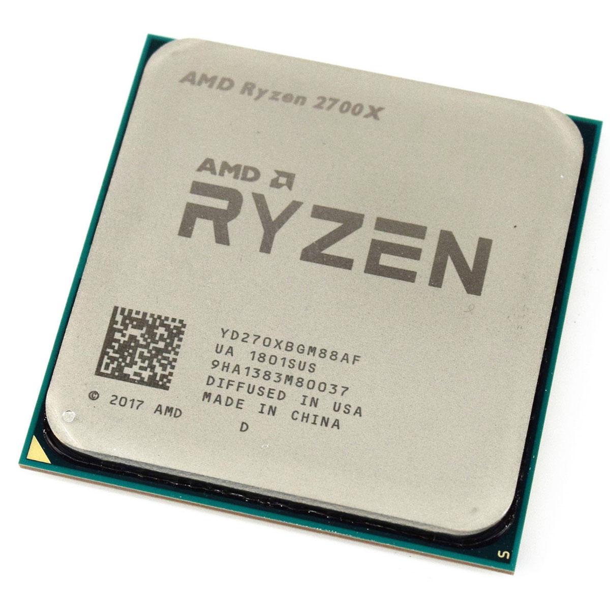 AMD Ryzen 7 2700X CPU Processor 8Core 4 3GHz 16MB TDP 105W Cache 14nm DDR4  2667MHZ r7 2700x Desktop