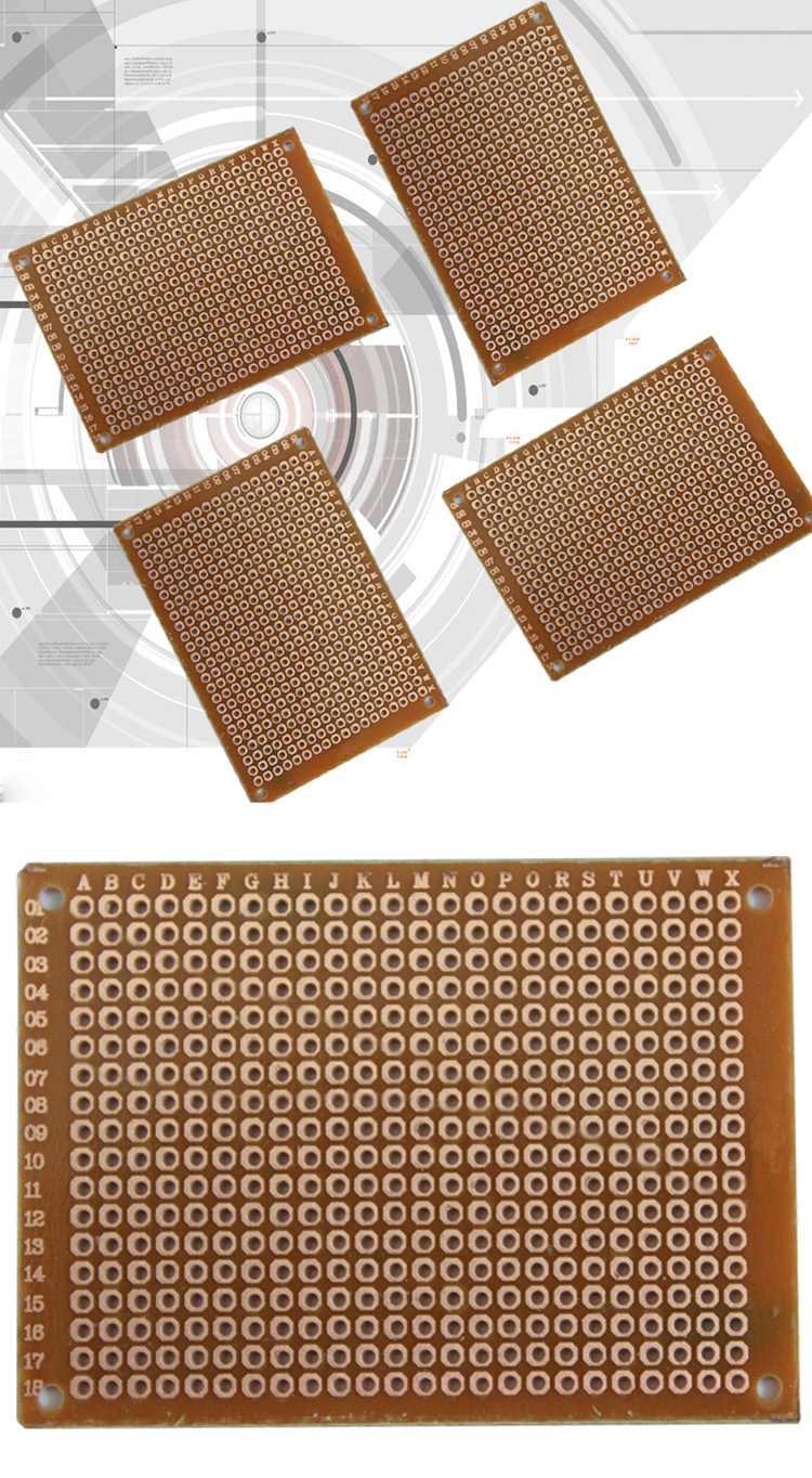 PCB Printed Circuit Board Stripboard Breadboard Matrix DIY 5x7CM