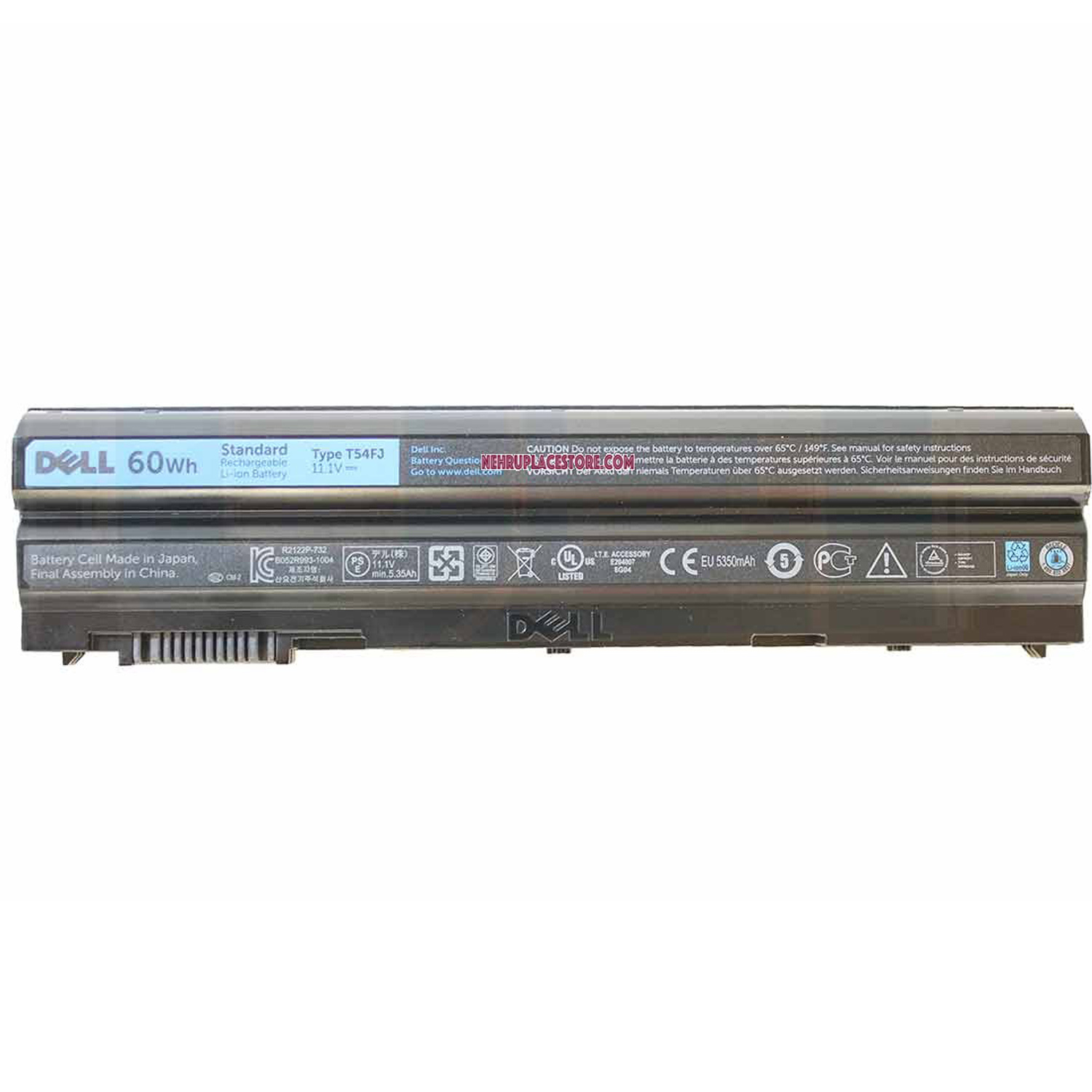Buy Dell Latitude E6440 6-cell Laptop Original Battery 60Wh - N3X1D