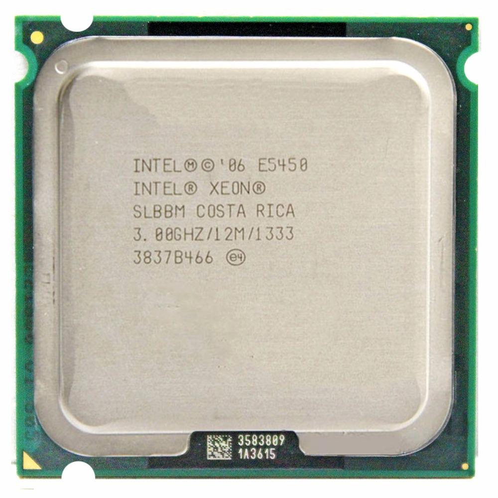 INTEL XEON X5450 3 0GHz/12M/1333Mhz/CPU equal to LGA775 Core 2 Quad Q9650  CPU,works on LGA775