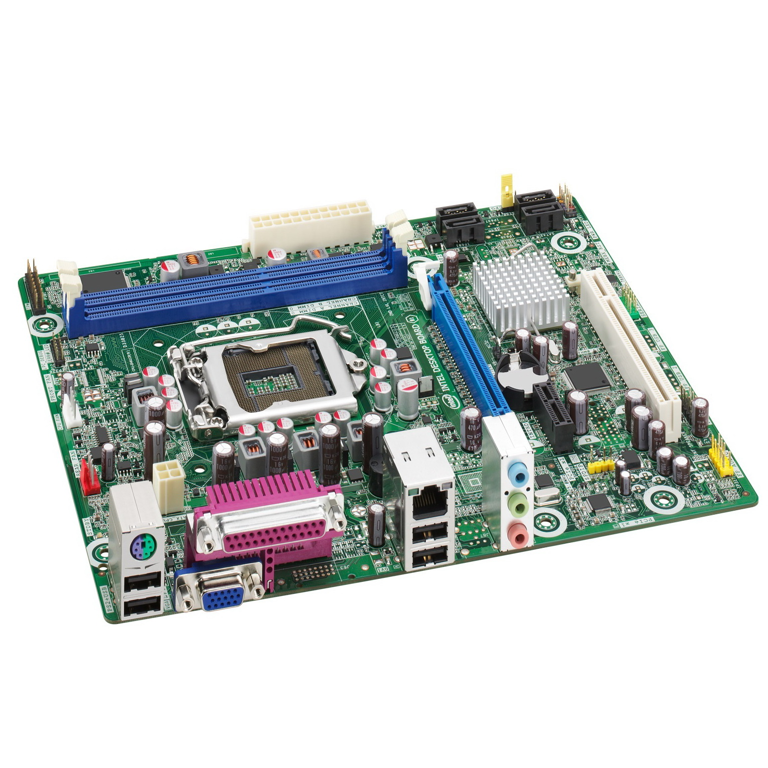 Buy Intel Dh61ww Desktop Motherboard Online In India At Lowest Mainboard Lga 775 I945 Off Board Home Computers
