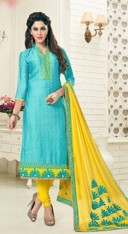 b80b645af Buy Party Wear Yellow Salwar Suit With Heavy Dupatta Online in India at Lowest  Prices