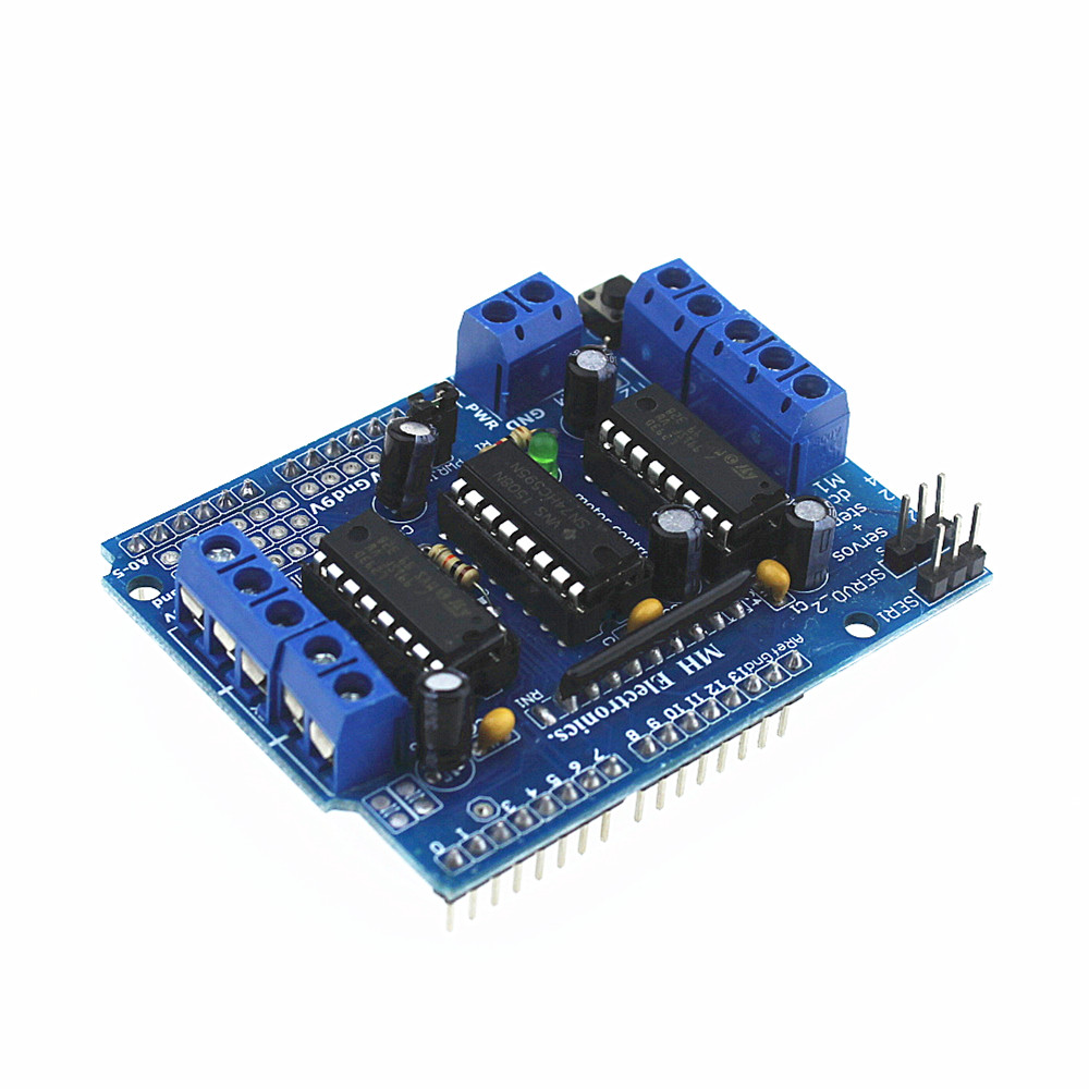 Buy L293d Motor Driver Drive Shield For Arduino Mega Uno Ethernet Switch Relay Home Shields