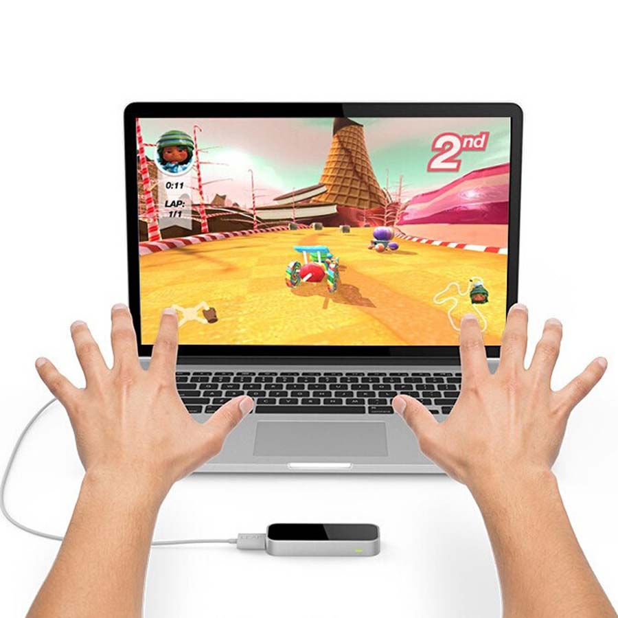 Leap Motion 3D Controller Somatosensory Gesture Motion Control USB for MAC  & PC with SDK