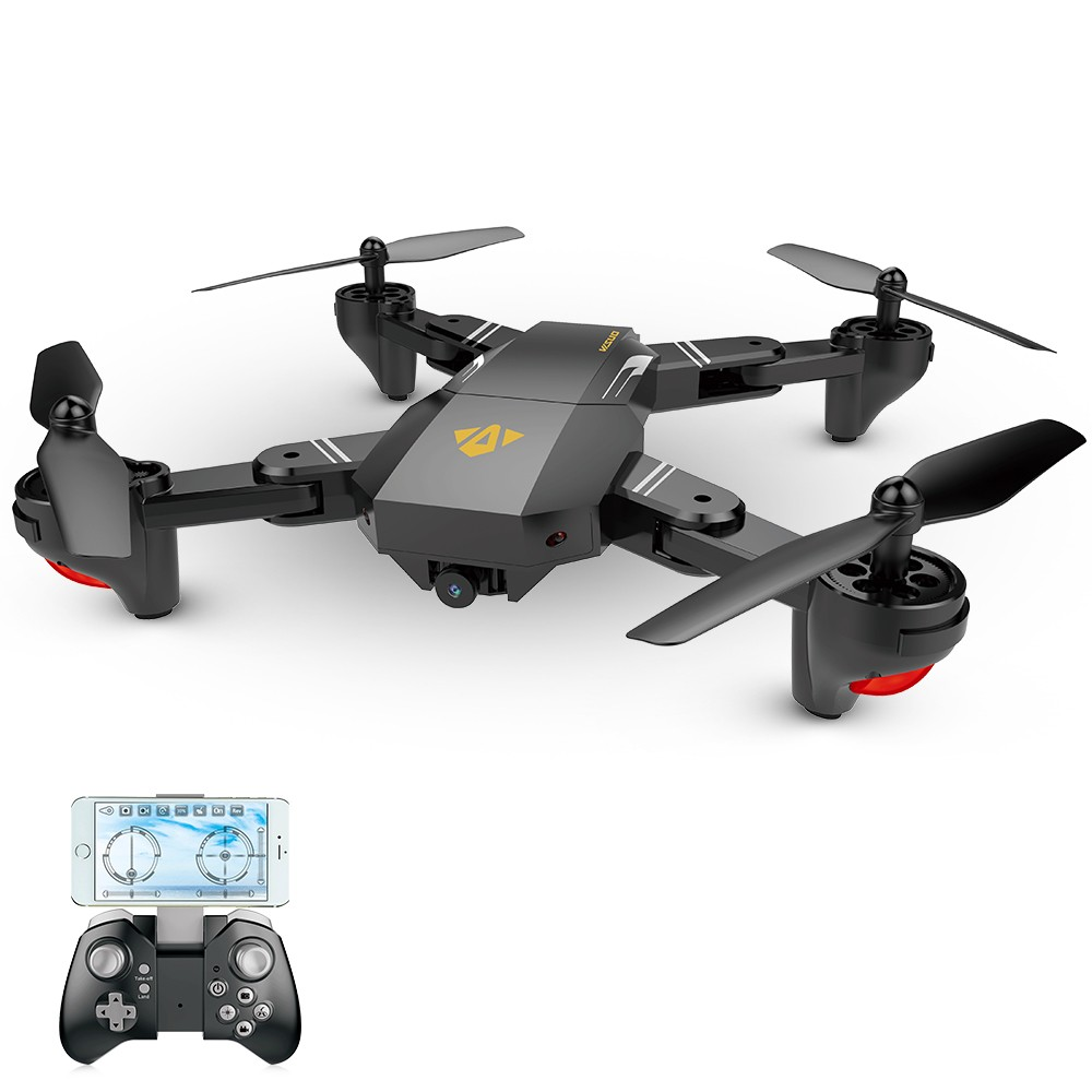 VISUO XS809W 2 4G Foldable RC Quadcopter Wifi FPV Selfie Drone RTF