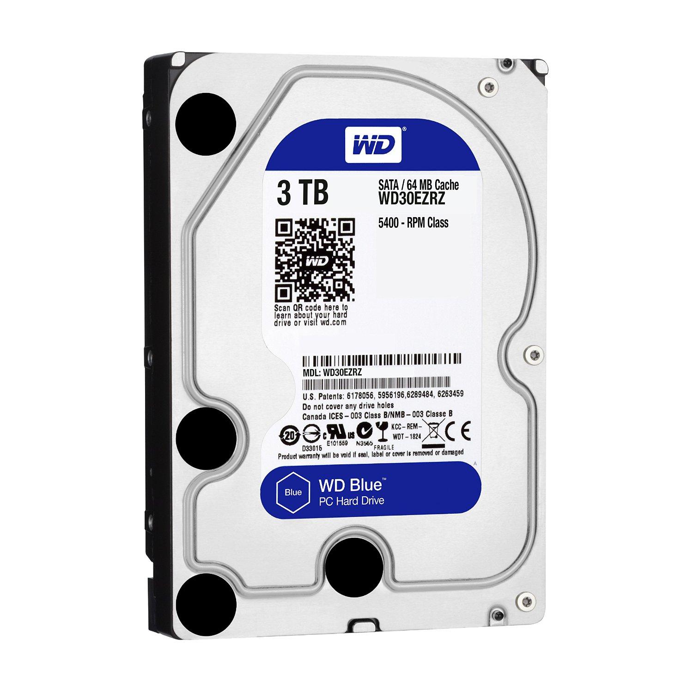 WD Blue 1TB SATA 6Gb//s 7200RPM 64MB Cache 3.5 Inch Desktop Hard Drive